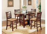 Lavon Counter Table and 4 Chairs Set in Cherry - 100888N