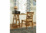 Lea Americana Saw Horse Desk with Chair - 237-346