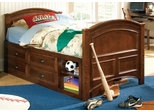 Lea Deer Run Bedroom Full Size Captains Bed - Lea American Drew - 625-949R