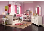 Lea Elite Hannah Twin Daybed Bedroom Set in White - 147-989R