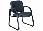 Leather Guest Chair - OFM - 503-L