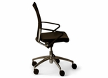 Leather Office Chair with Mesh Back - Vital 9903 BT3 Desk Chair - Standard Systems Seating - 9903