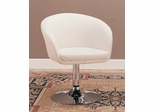 Leisure Chair in White - Coaster - 120354