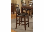 "Lenox 24"" Bar Stool (Set of 2) in Medium Brown - Coaster - 102169-SET"