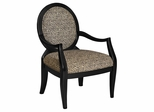 Leopard Oval Back Accent Chair - Powell Furniture - 502-622