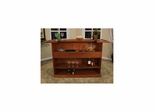 "Lexington 72"" Home Bar in Suede - American Hertiage - AH-600011SD"