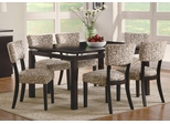 Libby 7PC Floating Top Dining Table Set - 103161