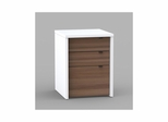 Liber-T 3 Drawer Unit with Legal Size File Storage - Nexera Furniture