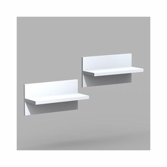 Liber-T Set of 2 Wall Shelves - Nexera Furniture