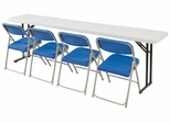 "Lightweight Seminar Table 18"" x 96"" - National Public Seating - BT-1896"