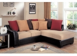 Lily Contemporary Sectional with Assorted Back Pillows - 501895