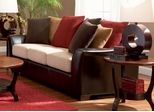 Lily Contemporary Sofa with Pillow Back - 501891