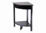 Liso Corner Table, Cube Storage and Shelf - Winsome Trading - 92720