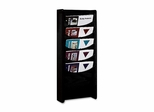 Literature Display Rack - Black - BDY6114