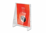 Literature Display Rack - Clear - DEF55501