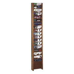 Literature Display Rack - Medium Oak - BDY61311