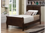 Louis Philippe 202 Queen Sleigh Bed - 202411T