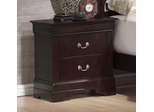 Louis Philippe Nightstand with Hidden Jewelry Storage - 203982N