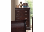 Louis Philippe Style Chest with Hidden Storage - 203985N