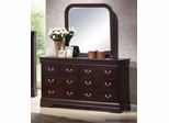 Louis Philippe Style Dresser with Hidden Storage - 203983N