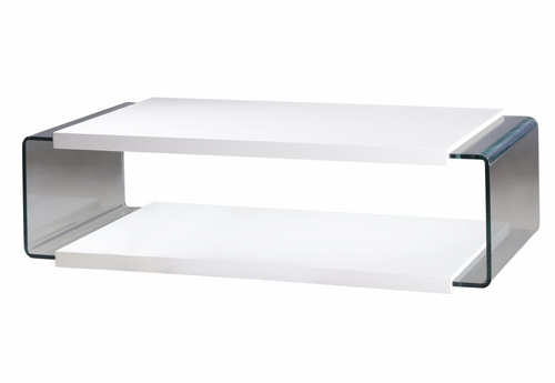 Luna Coffee Table - Bellini Modern Living - LUNA-WHT