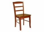 Madrid Ladderback Chair (Set of 2) in Cottage Oak - C48-2P