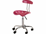 Magenta Fire Tractor Seat Task Chair