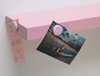 Magnetic Shelves (Set of 2) in Pink - 4D Concepts - 16730
