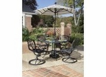 Malibu Outdoor Patio Collection in Black - Home Styles