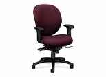 Manager Mid-Back Chair W/ Seat Guide - Claret - HON7628BW69T
