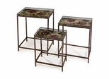 Maniera Nesting Tables (Set of 3) - IMAX - 12204-3