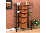 Manilla 5 Drawer Kitchen Storage Rack - Holly and Martin