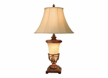 Marble Look Table Lamp - Dale Tiffany