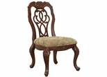 Marisol Dining Scroll Ribbon Back Side Chair - Set of 2 - 103442