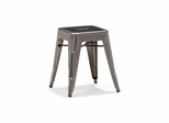 Marius Stool in Gun Metal - Set of 6 - Zuo