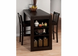 Maryland Merlot 3 Piece Counter Height Dining Set - 810-48
