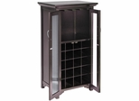 Mason Wine Cabinet with French Doors - Winsome Trading - 92722