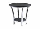 Maya Round End Table - Winsome Trading - 93219