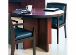 Mayline Corsica 42 Inch Round Conference Table in Mahogany - CTRNDMAH
