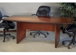 Mayline Corsica 6 Feet Boat-shaped Conference Table in Sierra Cherry - CTC72CRY