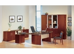 Mayline Napoli Executive Office Package 11 in Golden Cherry