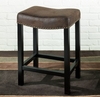 """MBS-013 Tudor Backless 30"""" Stationary Barstool in Wrangler Brown - Armen Living - LCMBS013BAWR30"""