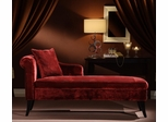 MCH-009 Patterson Chaise in Maroon Chenille - Armen Living - LCMCH009FAMA
