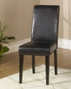 MD-014 Side Chair (Set of 2) in Brown Leather - Armen Living - LCMD014SIBC-SET