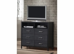 Media Chest - Grove Media Chest in Black - Coaster - 201656