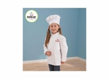 Medium Chef Jacket & Chef Hat - KidKraft