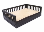 Medium Size Habitat 'n Home Mission Dog Bed in Espresso - NewAgeGarden - EHHB102M