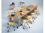 Meeting/Training Furniture Set with Rico Chairs 2 - OFM - RICO-SET-2
