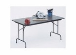 "Melamine Top Folding Table 24"" x 60"" - Correll Office Furniture - CF2460M"