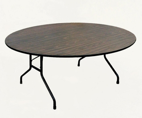 """Melamine Top Folding Table 60"""" Round - Correll Office Furniture - CF60MR"""